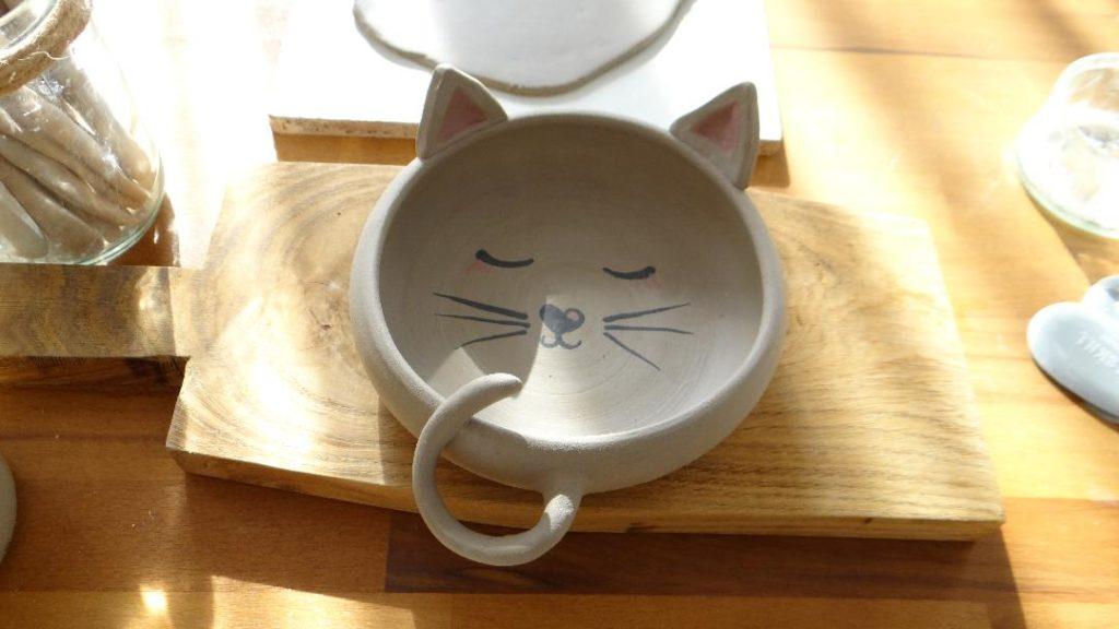 Bol céramique chat