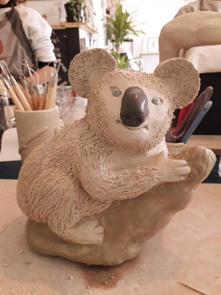 Sculpture de koala